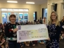 Presentation of Carol Singing Cheques
