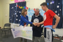 Charity Cheques Presentation 2015