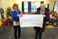 Presentation of Charity Cheques 2016
